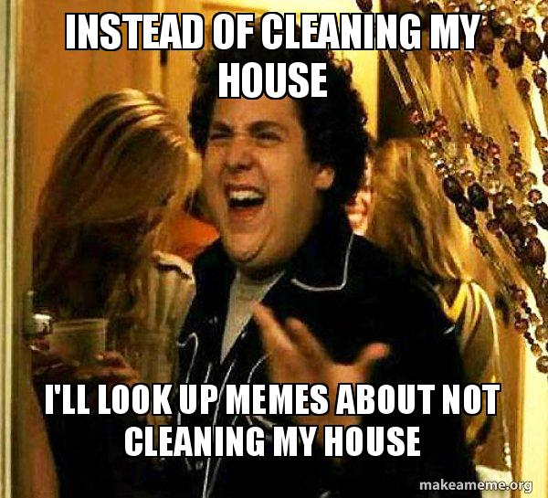Cleaning memes FieldVibe field service management software